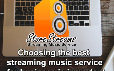 Choosing the best streaming music service for business is important.